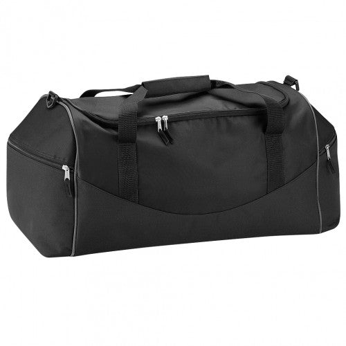 Front - Quadra Teamwear Holdall Duffle Bag (55 Litres) (Pack of 2)