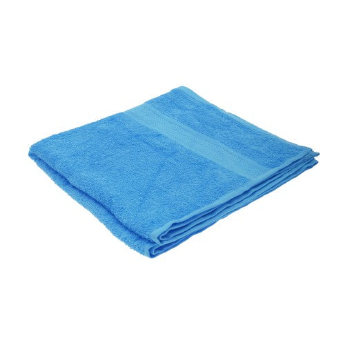 Front - Jassz Plain Bath Towel 70cm x 140cm (350 GSM) (Pack of 2)
