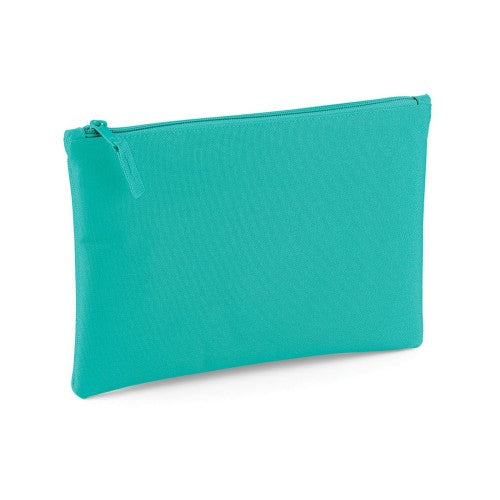 Front - Bagbase Grab Zip Pocket Pouch Bag (Pack of 2)