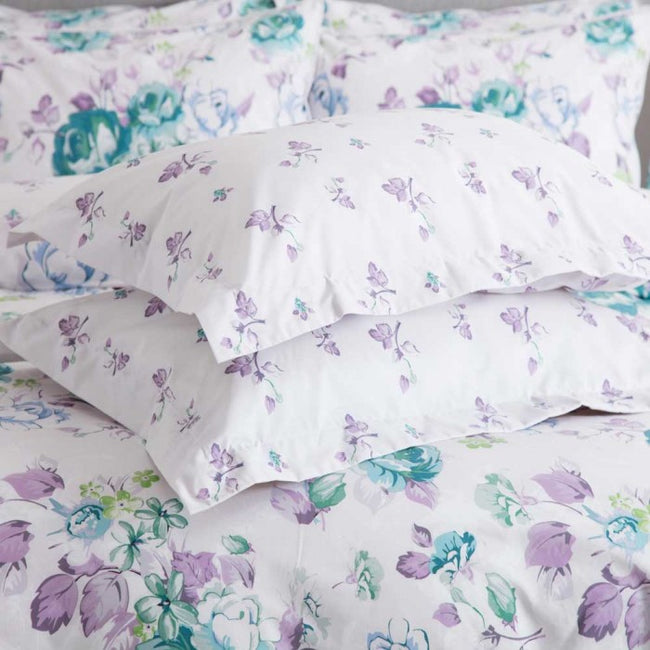 Front - Belledorm Melody Pillowcase (Pair)