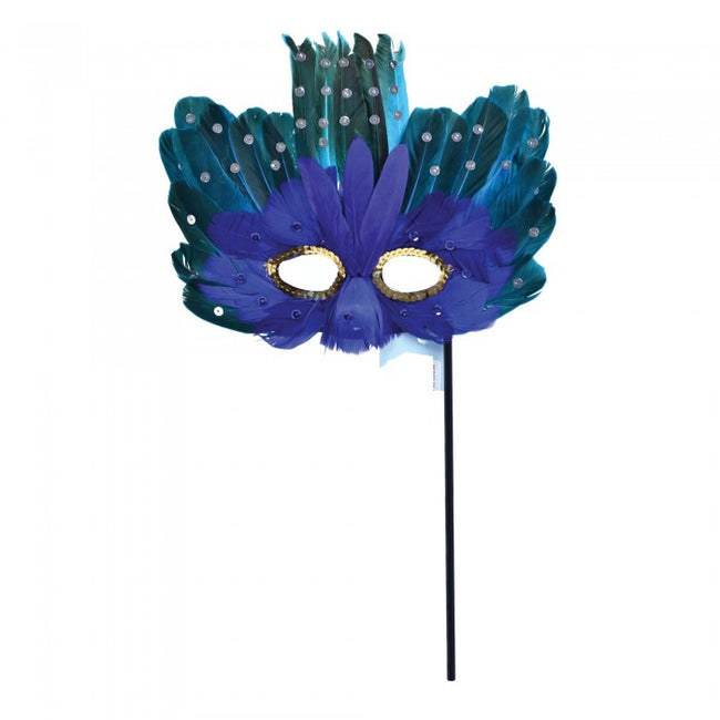 Front - Bristol Novelty Feather Eye Mask