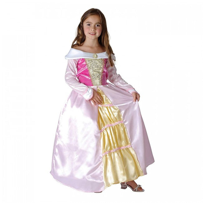 Front - Bristol Novelty Childrens/Girls Sleeping Princess Costume