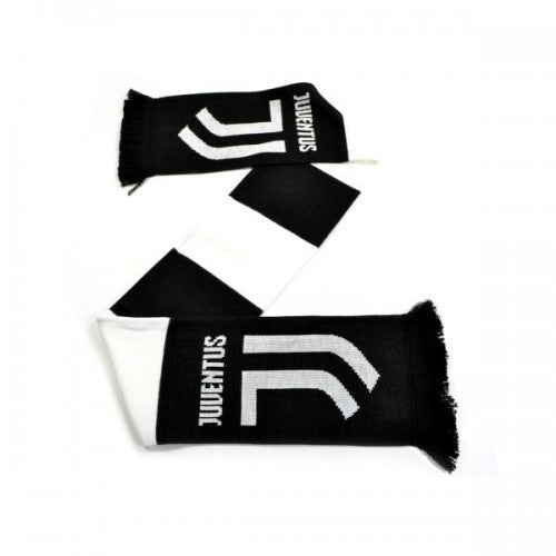 Black-White - Back - Juventus FC Supporters Bar Scarf