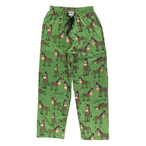 Front - LazyOne Lazy Ass Mens Pyjama Trousers