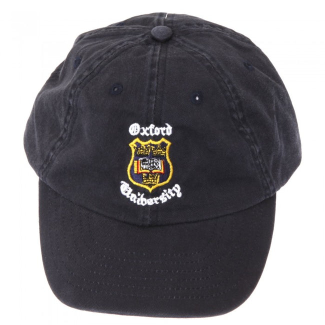 Front - Oxford University Baseball Cap With Adjustable Strap