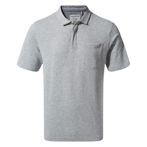 Front - Craghoppers Mens Meran Short Sleeved Polo