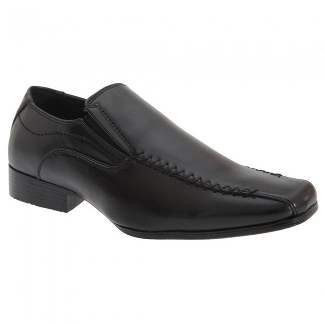 Front - US Brass Boys Raven Twin Gusset Shoes