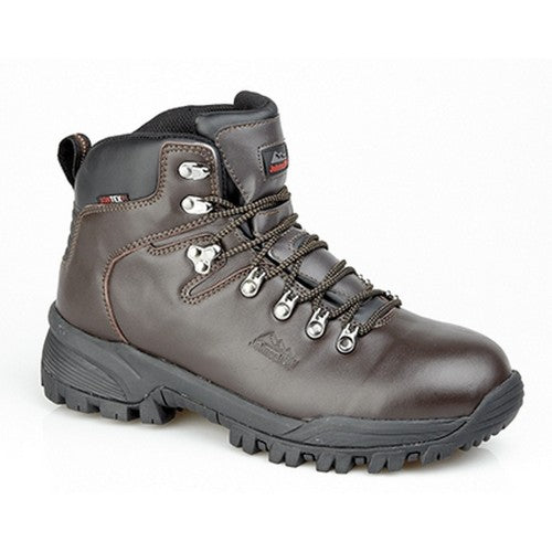 Front - Johnscliffe Mens Canyon Leather Superlight Hiking Boots