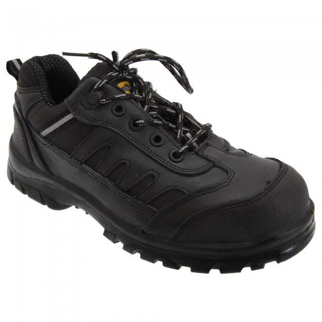 Front - Grafters Mens Fully Composite Non-Metal Safety Trainer Shoes