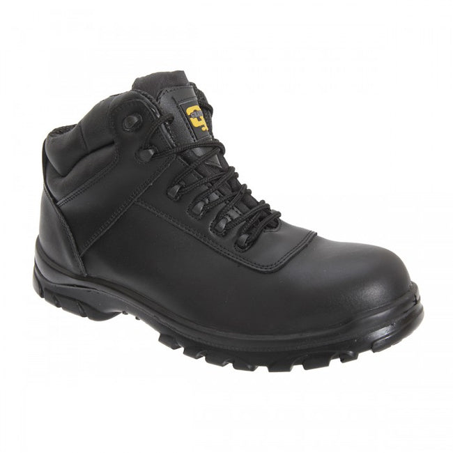 Front - Grafters Mens Fully Composite Non-Metal Safety Hiker Type Boots