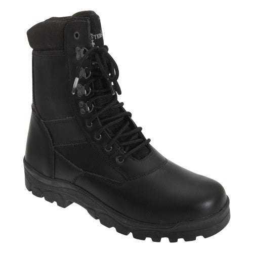 Front - Grafters Mens Top Gun Thinsulate Lined Combat Boots