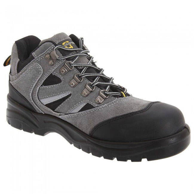 Front - Grafters Mens Industrial Safety Hiking Boots