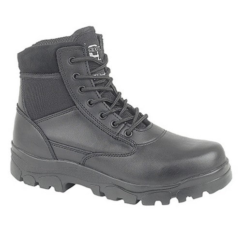 Front - Grafters Mens Sherman Thinsulate Lined 7 Eye Combat Boots