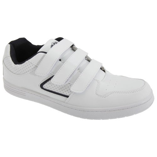 Front - Dek Mens Charing Cross Touch Fastening Trainers