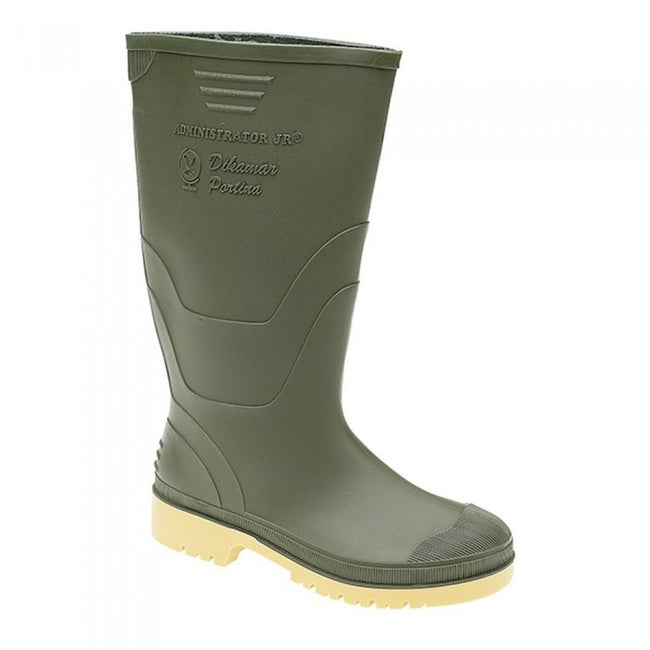 Front - Dikamar Childrens/Kids Administrator Jnr Youths Wellingtons