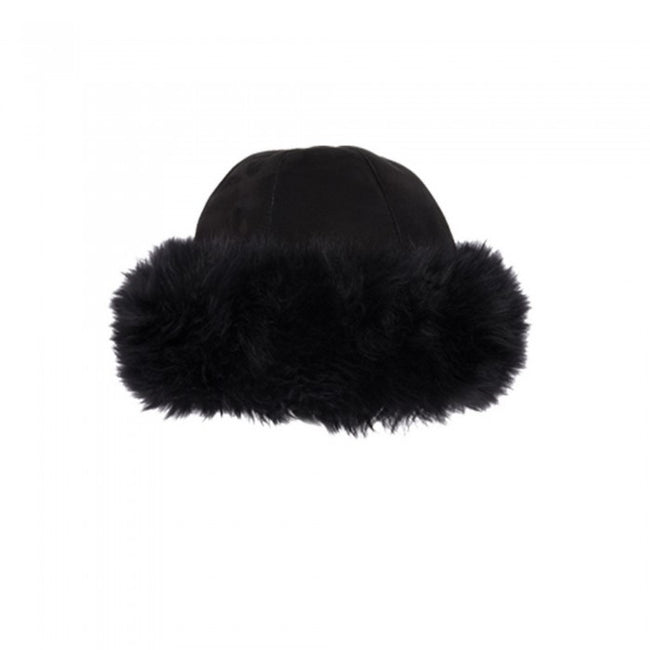 Front - Eastern Counties Leather Womens/Ladies Moritz Sheepskin Panel Hat