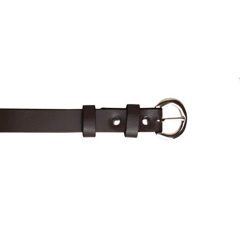 Front - Eastern Counties Leather Womens/Ladies Thin Fashion Belt