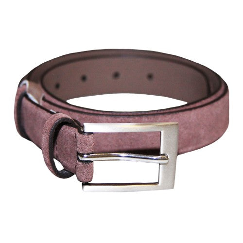 Front - Eastern Counties Leather Womens/Ladies Suede Belt