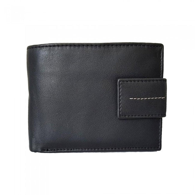 Front - Eastern Counties Leather Adults Unisex Warren Bi-Fold Wallet