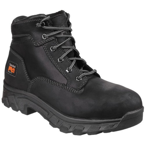 Front - Timberland Pro Mens Workstead Lace Up Safety Boot