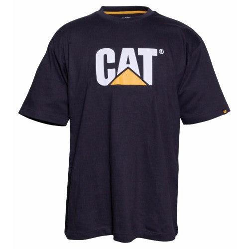 Front - Caterpillar Mens TM Logo Short Sleeve T-Shirt
