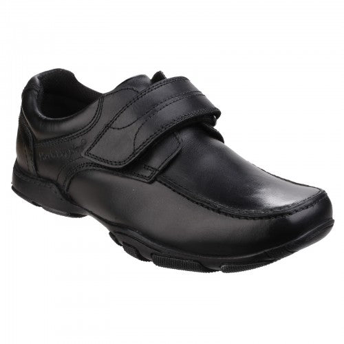 Front - Hush Puppies Childrens Boys Freddy 2 Back To School Shoes