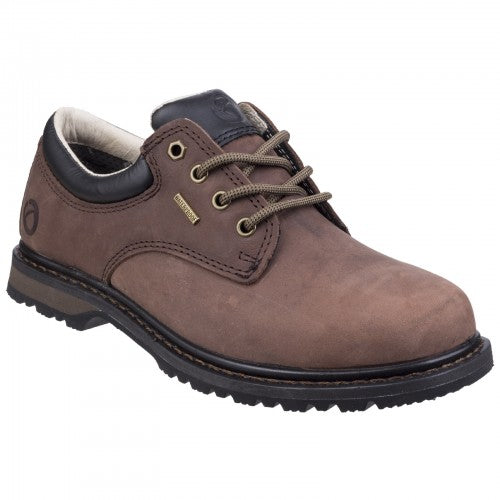 Front - Cotswold Mens Stonesfield Leather Hiking Shoe