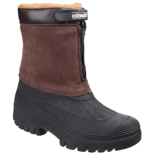 Front - Cotswold Mens Venture Waterproof Winter Boots