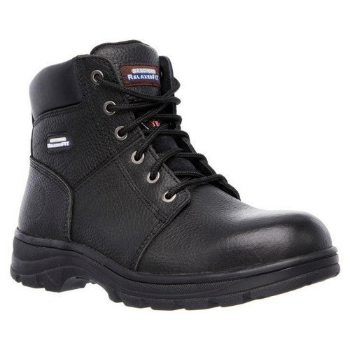 Front - Skechers Mens Workshire Safety Boots