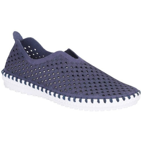 Front - Divaz Onyx Slip On Shoes