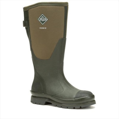 Front - Muck Boots Womens Chore Adjustable Tall Wellington Boots