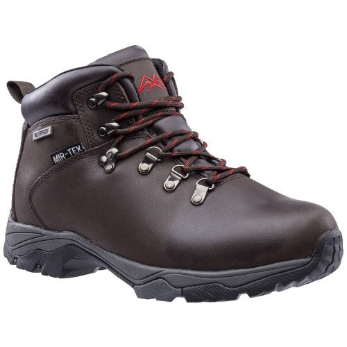 Front - Hawkridge Mens Leather Walking Boot