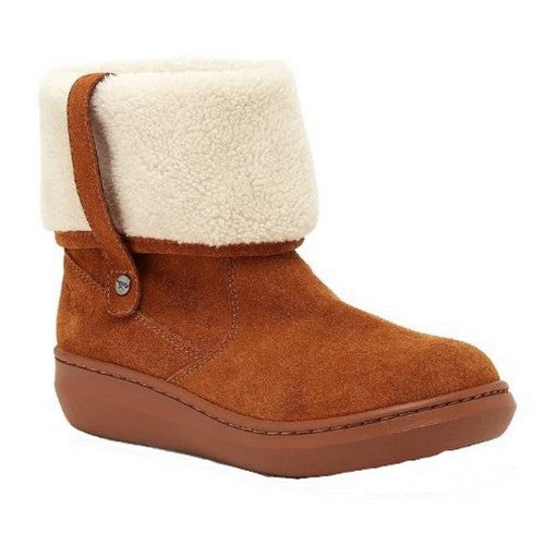 Front - Rocket Dog Womens/Ladies Sugar Mint Suede Ankle Winter Boot