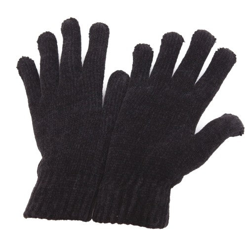 Front - Ladies/Womens Chenille Winter Magic Gloves