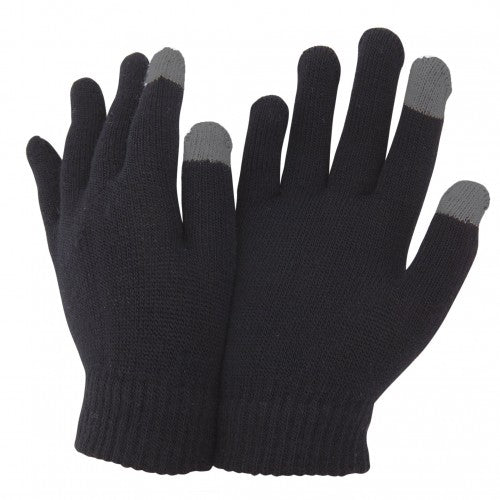 Front - FLOSO Unisex Mens/Womens IPhone/iPad Mobile Touch Screen Winter Magic Gloves