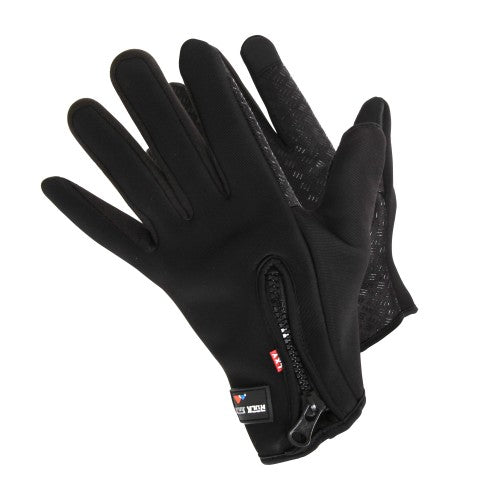 Front - RockJock Womens/Ladies Thermal Insulation Grip Gloves