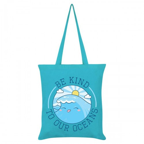 Front - Grindstore Be Kind To Our Oceans Tote Bag
