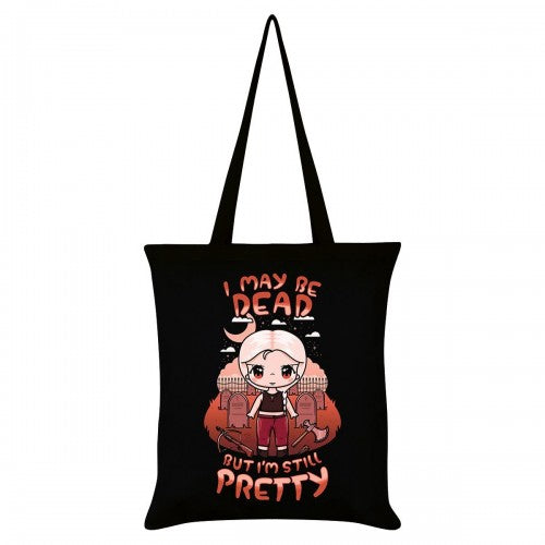 Front - Mio Moon I May Be Dead But Im Still Pretty Tote Bag