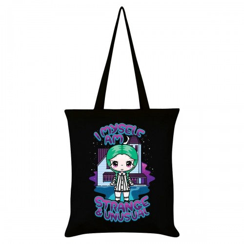 Front - Mio Moon I Myself Am Strange & Unusual Tote Bag