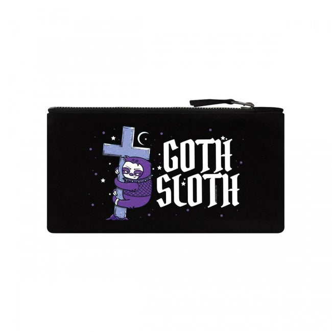 Front - Grindstore Goth Sloth Pencil Case