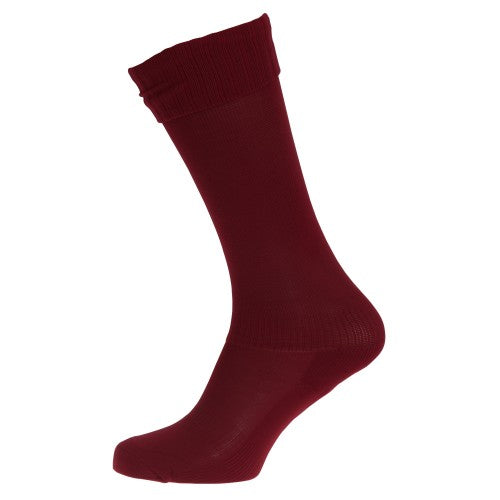 Front - Apto Childrens/Kids Plain Football Socks