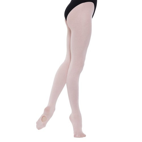 Front - Silky Childrens Girls Convertible Dance Ballet Tights (1 Pair)