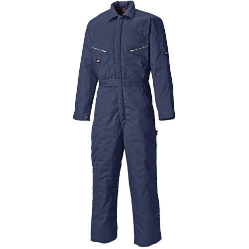 Front - Dickies Mens Lined Workwear Coverall
