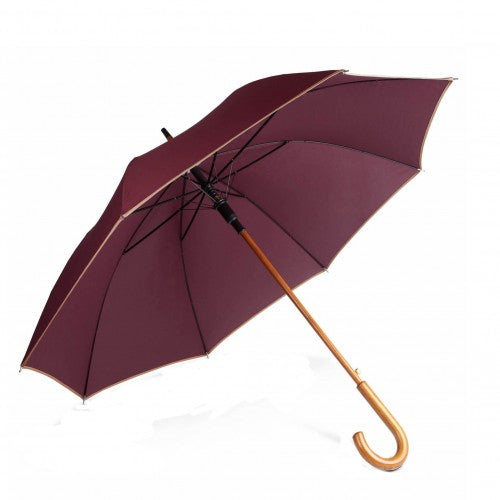 Front - Kimood Unisex Auto Open Walking Umbrella
