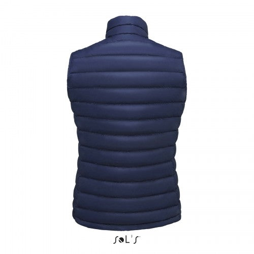 Front - SOLS Womens/Ladies Wilson Lightweight Padded Bodywarmer