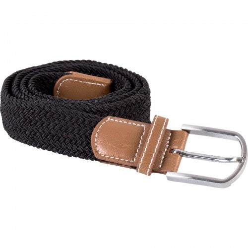 Front - K-UP Adults Unisex Braided Elasticated Belt