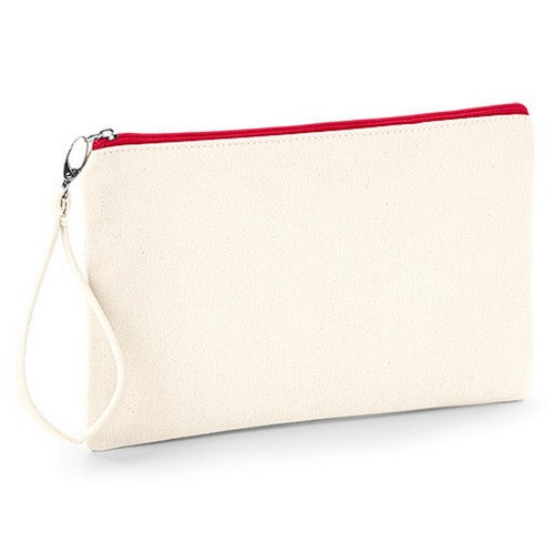 Front - Westford Mill Canvas Wristlet Pouch