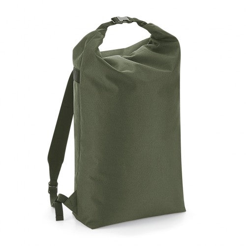 Front - BagBase Icon Roll-Top Backpack