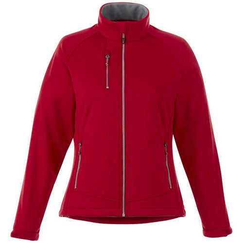 Front - Slazenger Chuck Womens/Ladies Softshell Jacket