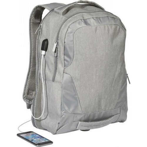 Front - Avenue Overland 17 Inch TSA Laptop Backpack